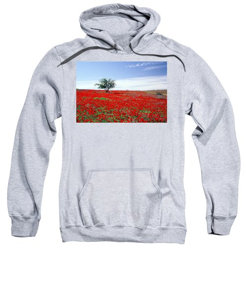 A Tree In A Red Sea Sweatshirt