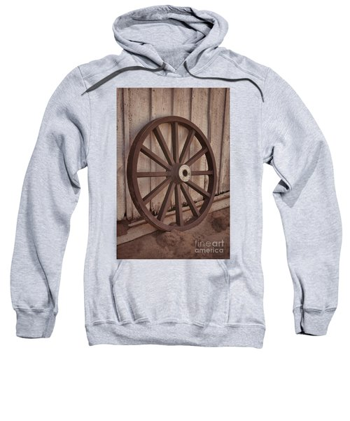 An Old Wagon Wheel Sweatshirt