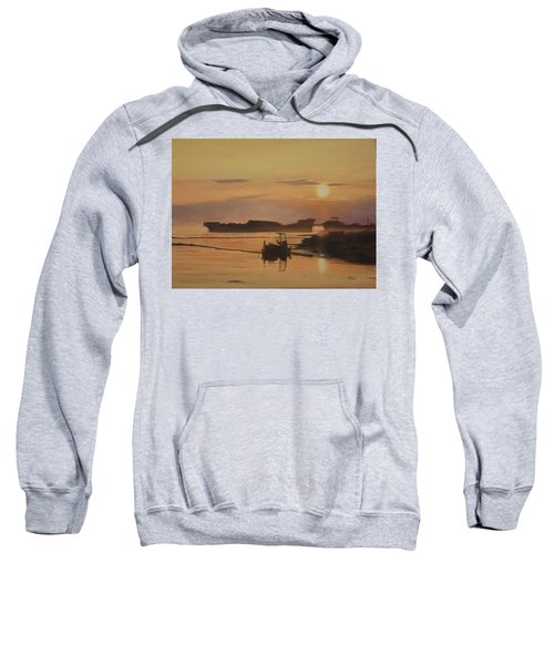 At The End Of It's Day Sweatshirt