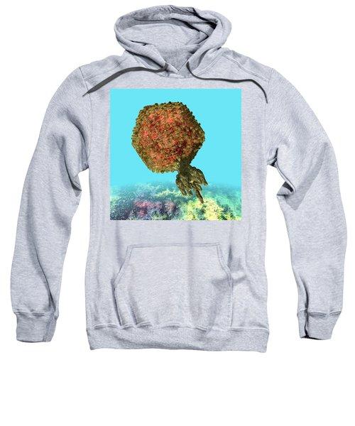 Bacteriophage P22 Sweatshirt