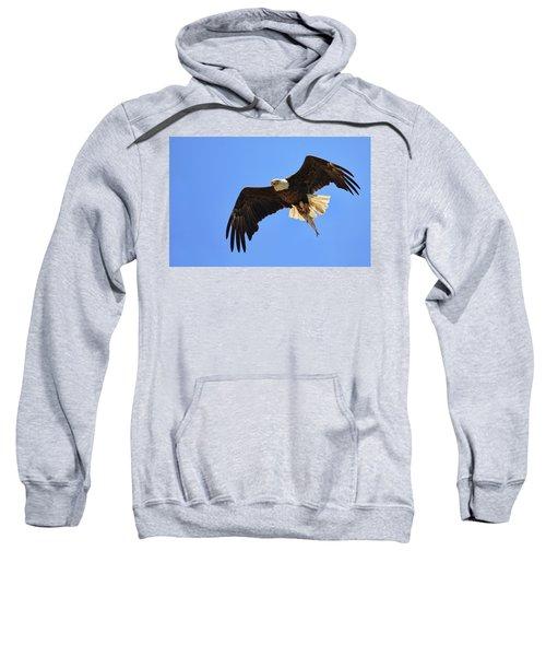 Bald Eagle Catch Sweatshirt