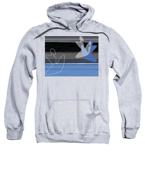 Blue Girls Sweatshirt