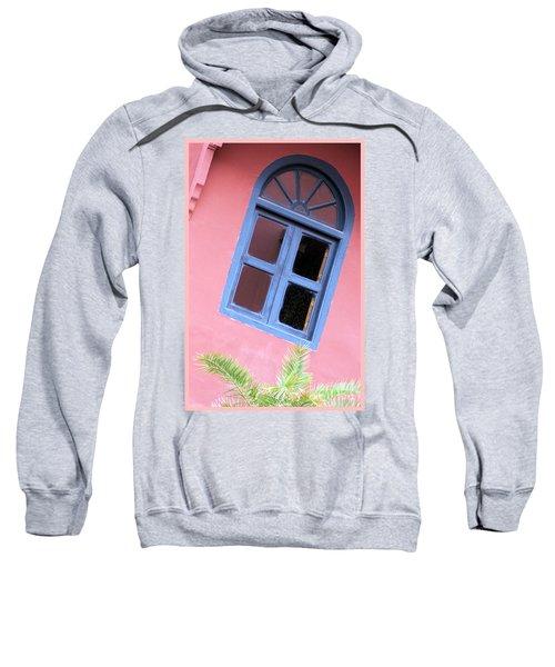 Blue Morrocan Window Sweatshirt