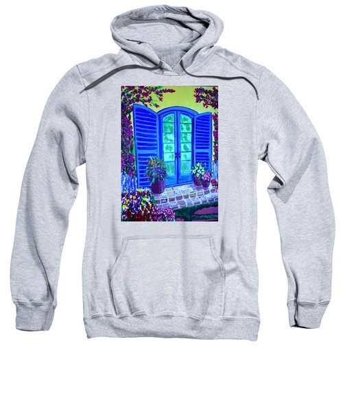 Blue Shutters Sweatshirt