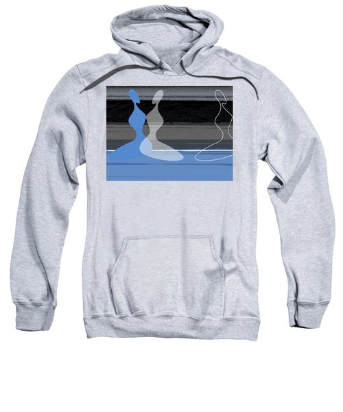 Blue Women Sweatshirt