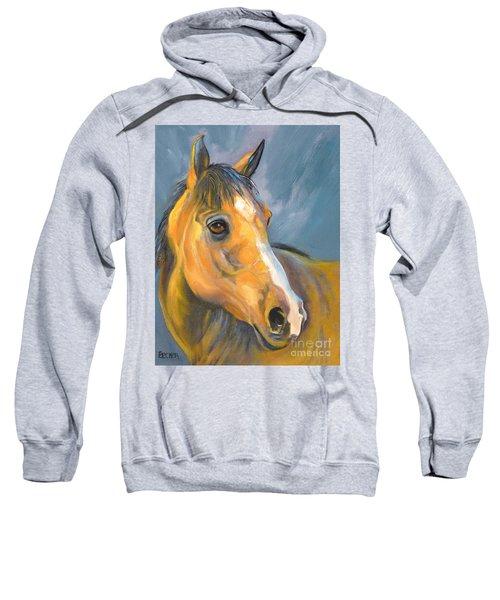 Buckskin Sport Horse Sweatshirt