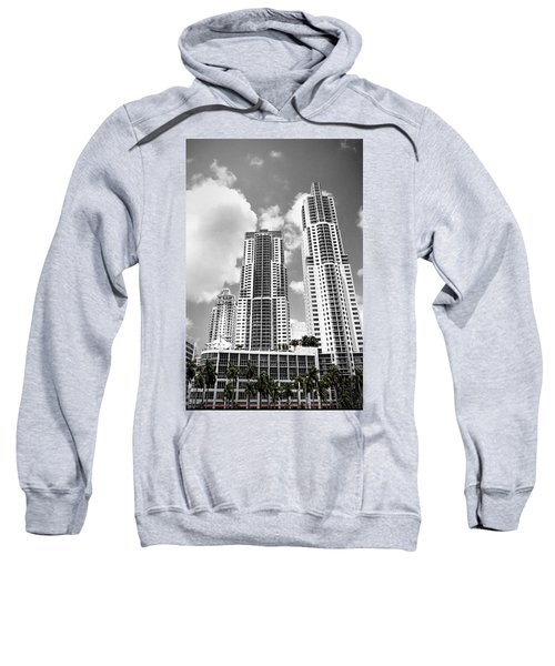 Buildings Downtown Miami Sweatshirt