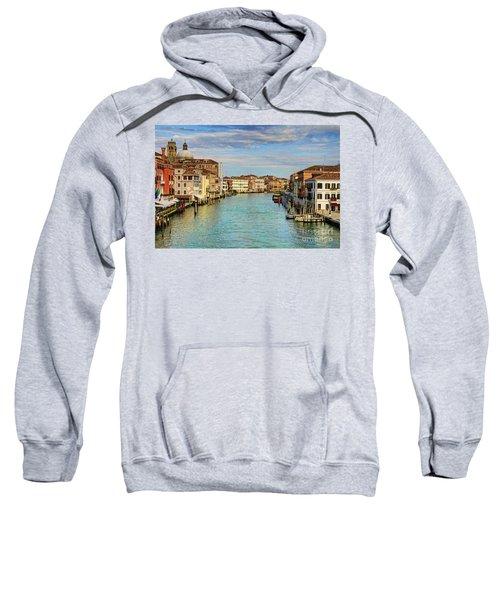 Canals Of Venice  Sweatshirt