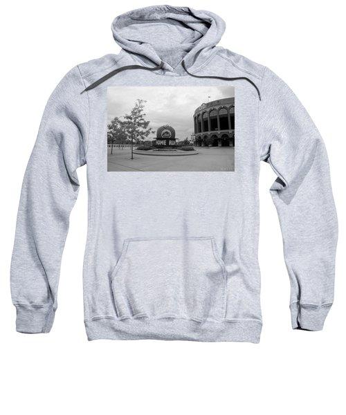 Citi Field In Black And White Sweatshirt