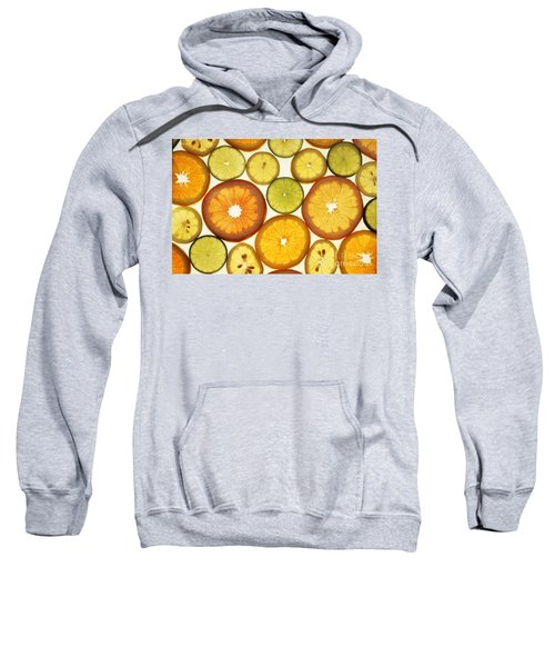 Citrus Slices Sweatshirt by Photo Researchers