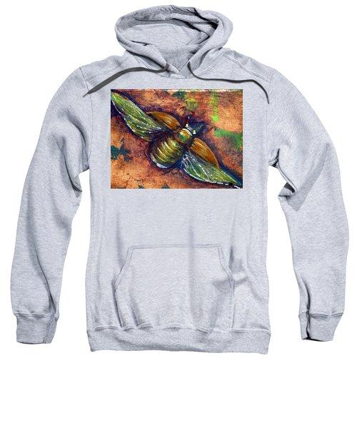 Copper Beetle Sweatshirt