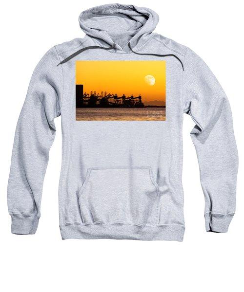 Cranes At Sunset Sweatshirt