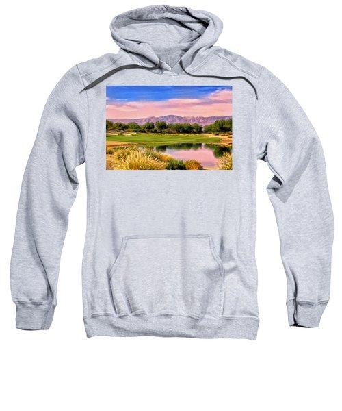 Dawn On The Golf Course Sweatshirt