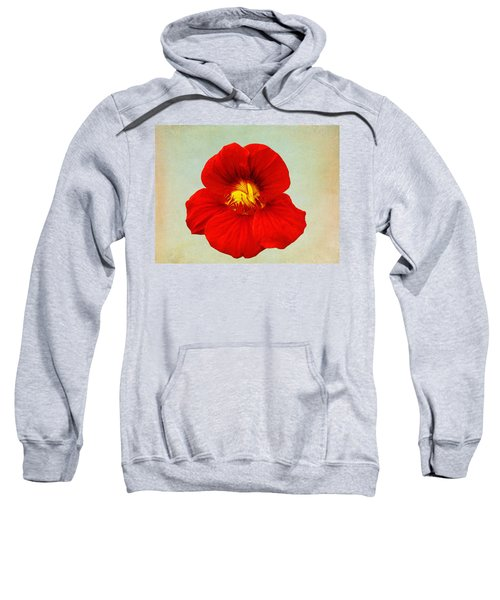 Daylily On Texture Sweatshirt by Bill Barber