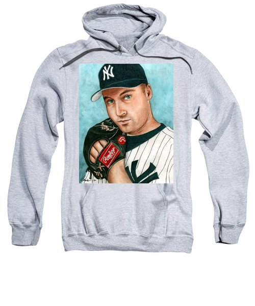 Derek Jeter  Sweatshirt by Bruce Lennon