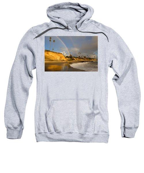 Double Raibow Over Laguna Beach Sweatshirt
