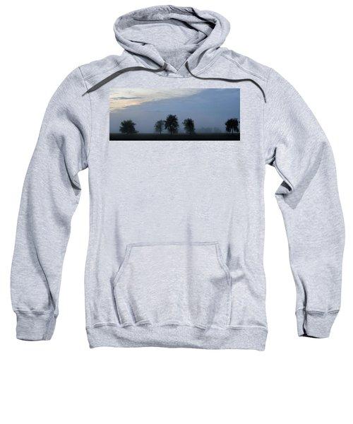 Foggy Pennsylvania Treeline Sweatshirt