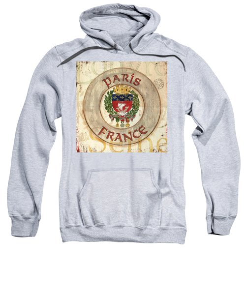 French Coat Of Arms Sweatshirt