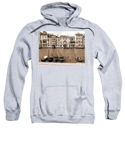 Gondolas Outside Salute Sweatshirt
