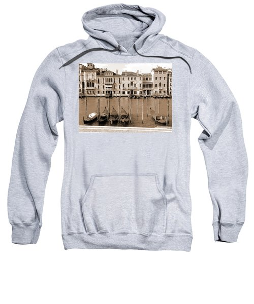 Gondolas Outside Salute Sweatshirt