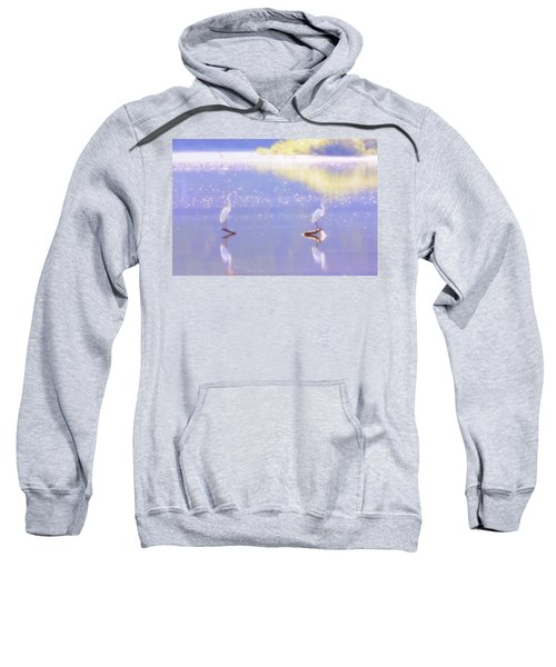 Great White Heron Sweatshirt