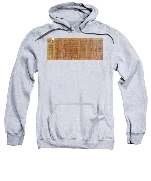Greek Papyrus Horoscope Sweatshirt