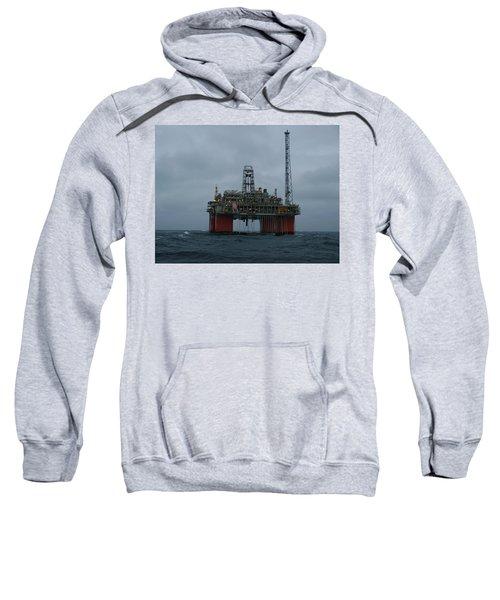 Grey Day At Snorre Sweatshirt
