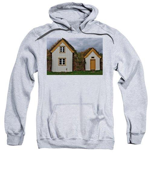 Icelandic Turf Houses Sweatshirt