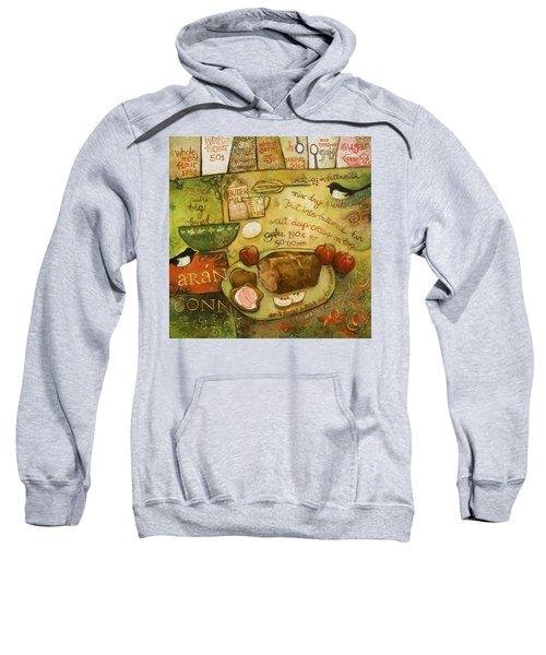 Irish Brown Bread Sweatshirt by Jen Norton