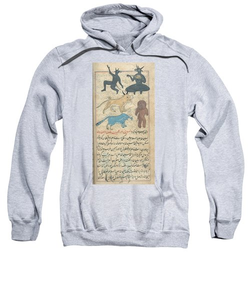 Islamic Demons, 18th Century Sweatshirt