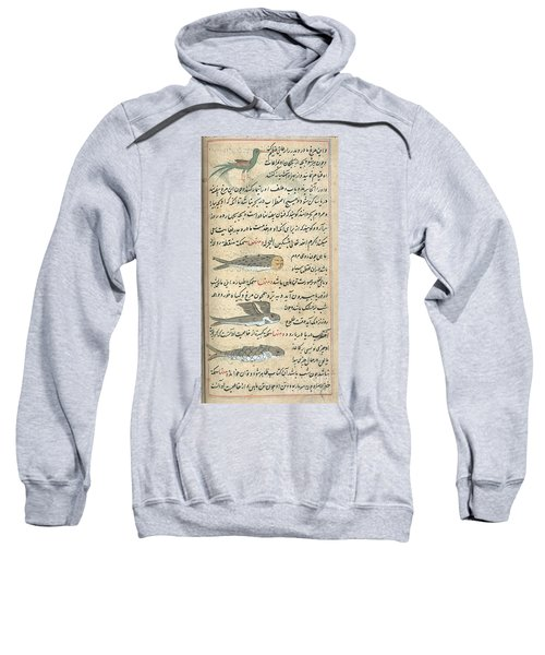 Islamic Mythical Creatures, 17th Century Sweatshirt