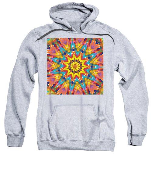 Kaleidoscope Series Number 7 Sweatshirt