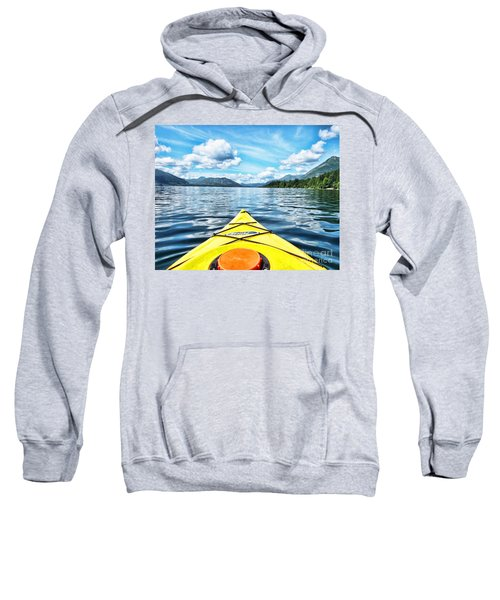 Kayaking In Bc Sweatshirt