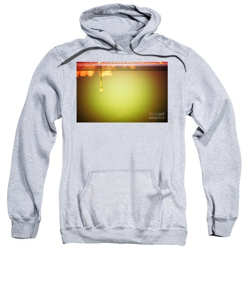 Lamp And Clouds In A Swimming Pool Sweatshirt