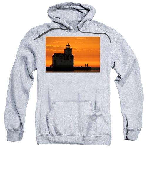 Morning Friends Sweatshirt by Bill Pevlor