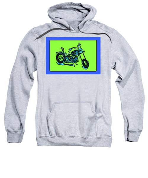 Motorbike 1c Sweatshirt
