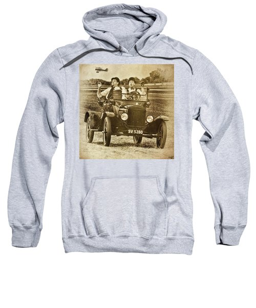 Not Likely Laurel And Hardly Hardy Sweatshirt