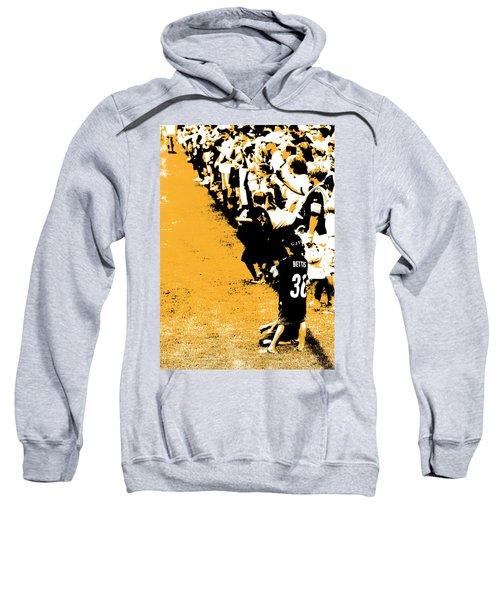 Number 1 Bettis Fan - Black And Gold Sweatshirt
