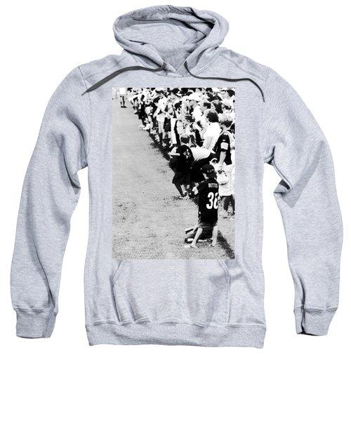 Number 1 Bettis Fan - Black And White Sweatshirt