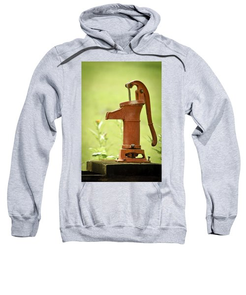 Old Fashioned Water Pump Sweatshirt