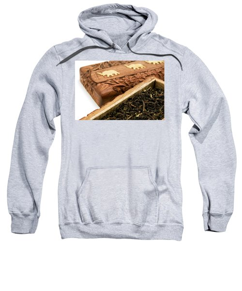 Ornate Box With Darjeeling Tea Sweatshirt