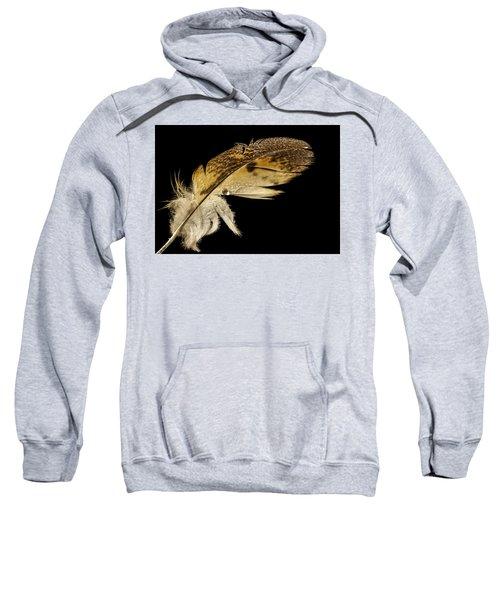 Owl Feather With Water Sweatshirt