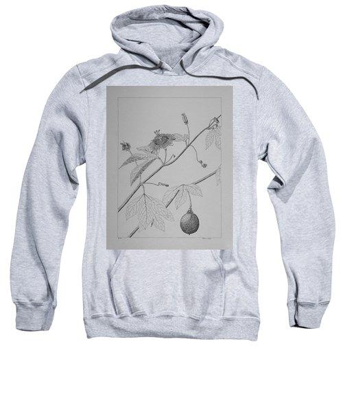 Passionflower Vine Sweatshirt