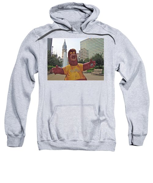 Phanatic Love Statue In The City Sweatshirt