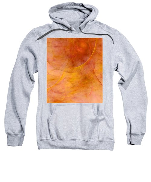 Poetic Emotions Abstract Expressionism Sweatshirt