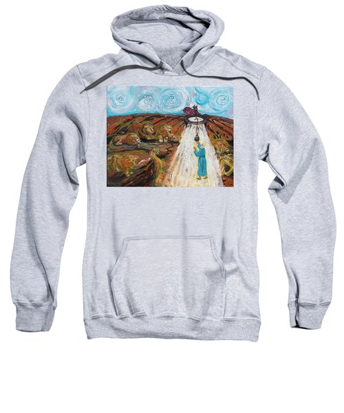 Prophetic Message Sketch 15 Daniel The Lion's Den And The Whirlwind Sweatshirt