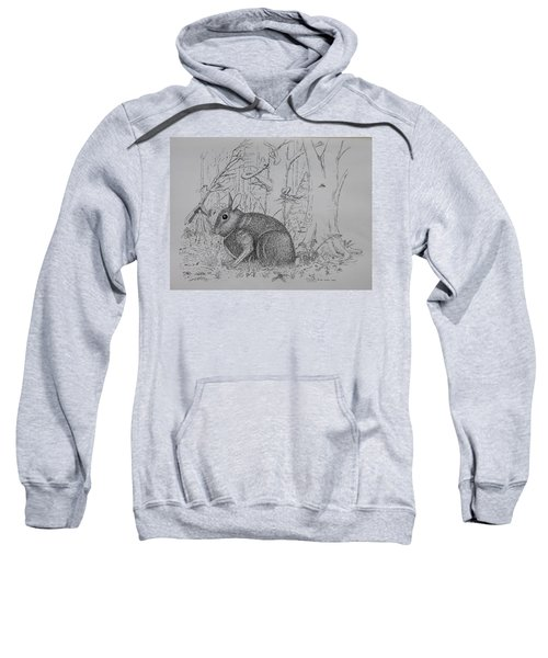 Rabbit In Woodland Sweatshirt