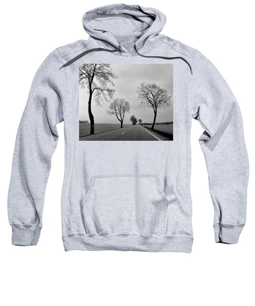 Road Through Windy Fields Sweatshirt