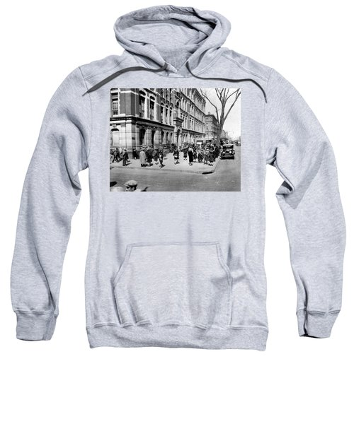 School's Out In Harlem Sweatshirt by Underwood Archives