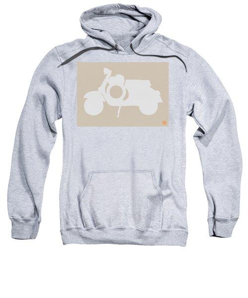 Scooter Brown Poster Sweatshirt